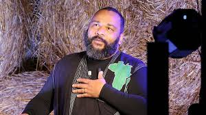 "Dieudonne M'Bala M'Bala in ""the War"" show"